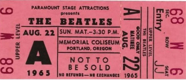 beatle ticket