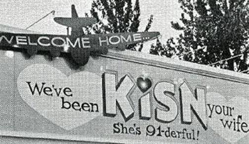 KISN billboard