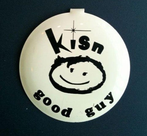 KISN good guy pin