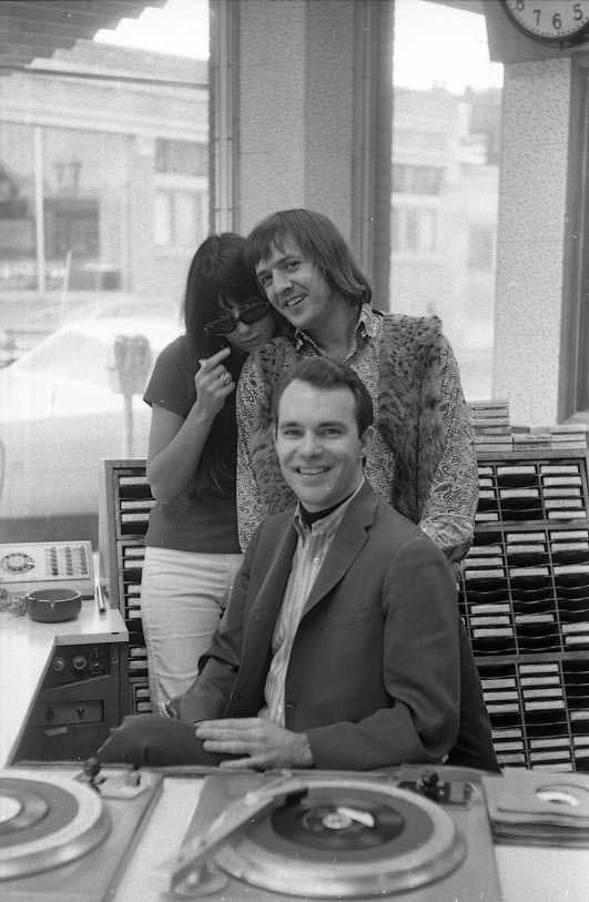 sonny and  cher at kisn radio